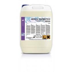 HERCOL ENZIMATICO Desengrasante enzimatico 20 L.