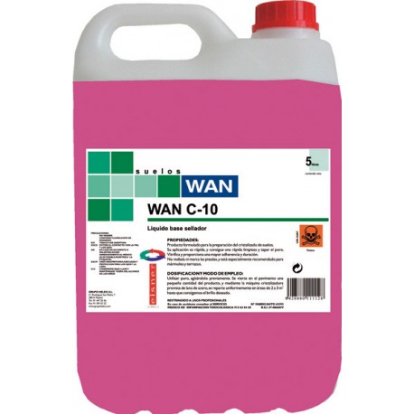 WAN C-10 5K. cristalizador base