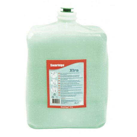 SWARFEGA SOFT GREEN CARTUCHO 4 u.x 4 L. crema