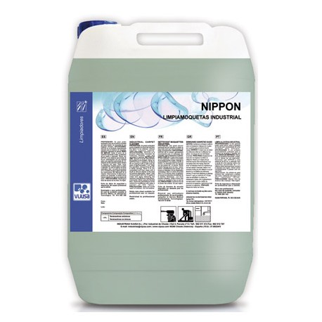 NIPPON LIMPIAMOQUETAS 5L.inyeccion y manual