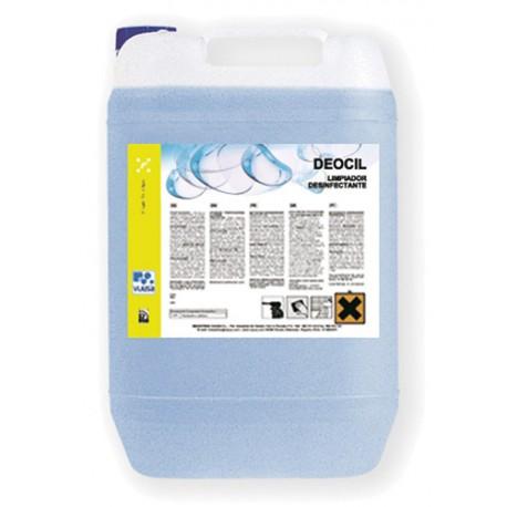 DEOCIL BACTERICIDA 5L. desinf.amonios cuater.