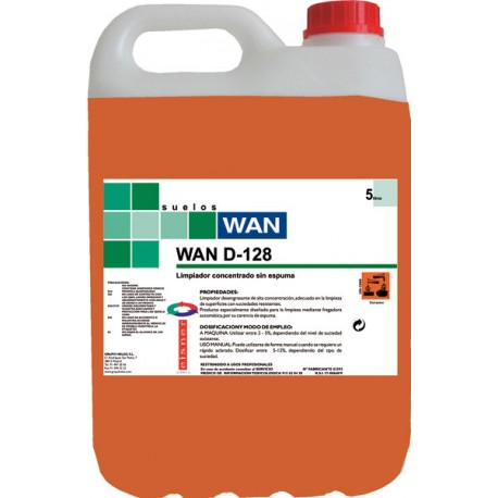 WAN D-128 5K. deseng.aceites minerales FREGADORA