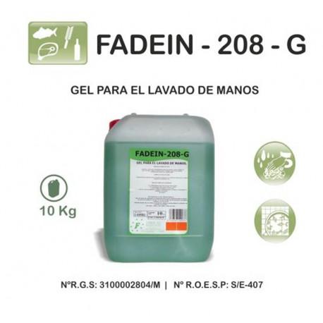 F208-G-10L. GEL DERMOPROTECTOR PARA MANOS