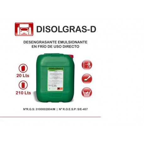 DISOLGRAS D 20K. PETROL MOTOR FRIO
