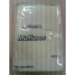 BAYETA CARLIM'S AMARILLO MICROFIBRA MULTIUSOS 5 UD