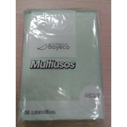 BAYETA CARLIM'S VERDE MICROFIBRA MULTIUSOS 5 UD.