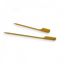 PICKS GOLF 9 CM NATURAL BAMBU 100 UN.
