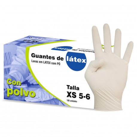 GUANTES LATEX T-P 100 U. ULTRASENSIBLE C/P