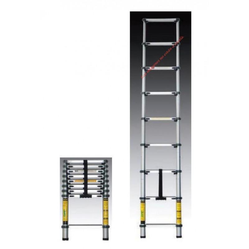 Escalera telescopica 8 pelda os r11708 coprolinor for Escaleras 8 peldanos