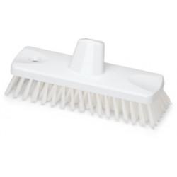 Cepillo de Fregar 23 cm Blanco Homologado Alimentario