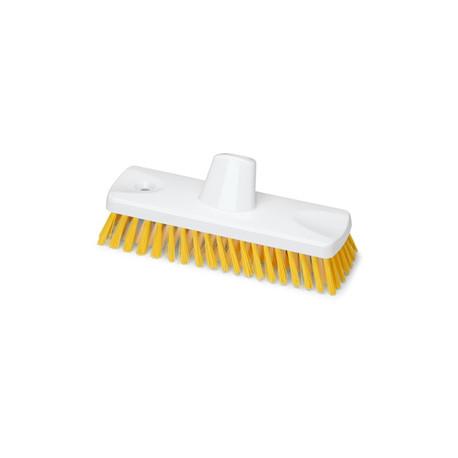 Cepillo de Fregar 23 cm Amarillo Homologado Alimentario