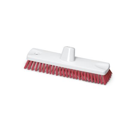 Cepillo de Fregar 30 cm Rojo Homologado Alimentario