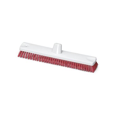 Cepillo de Fregar 45 cm Rojo Homologado Alimentario
