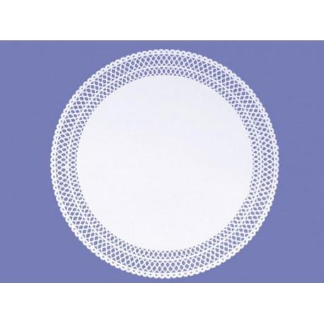 RODALES LITOS blanco 30 cm. 100UD.