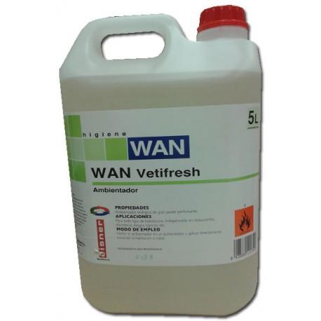WAN VETIFRESH 5 L.ambientador citrico