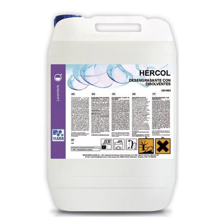 HERCOL 10L.deseng.liquido concentrado lavadora