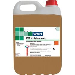 WAN JABONOSO 5 L. fregasuelos madera