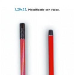 PALO METALICO 1,20 FORRADO ESC/FREG.