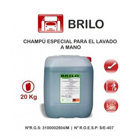 BRILO CHAMPU CON CERA 20 kg.