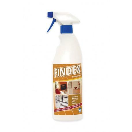 FINDEX DOM. 15udx750cc. C/PUL.limpiador abrillan.
