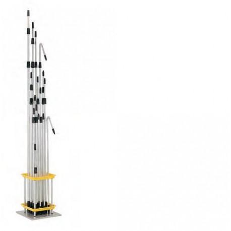 TUBO TELESCOP. 2,5m. 2x1,25
