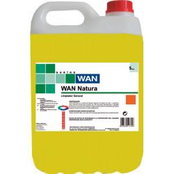 WAN NATURA 5L. limpiador general citrico