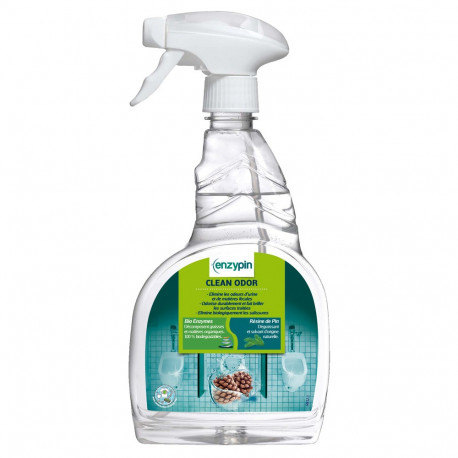 CLEAN ODOR 750 ml. (6 U.) destructor olores wc