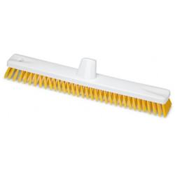 Cepillo de Fregar 45 cm Amarillo Homologado Alimentario